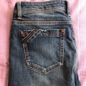 Size 28 Buckle Black Skinny Jeans!